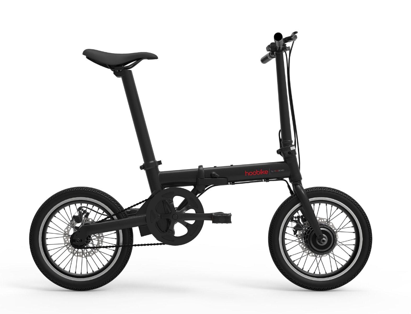 Hoobike foldable electric bike, 250 W, 36V 5,2Ah Lithium - Ion UL ...
